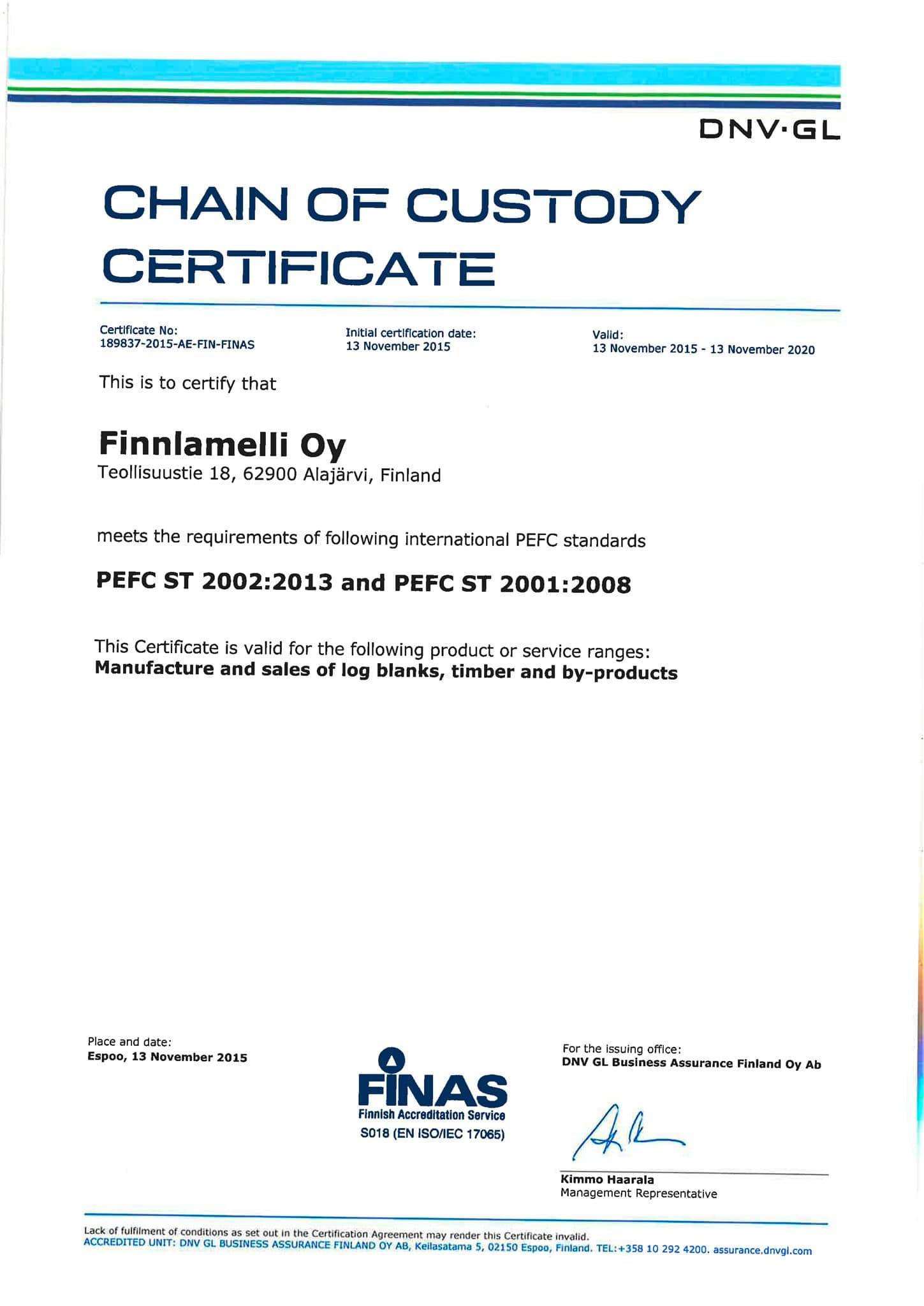 finnlamelli-oy-certificate-pefc-1
