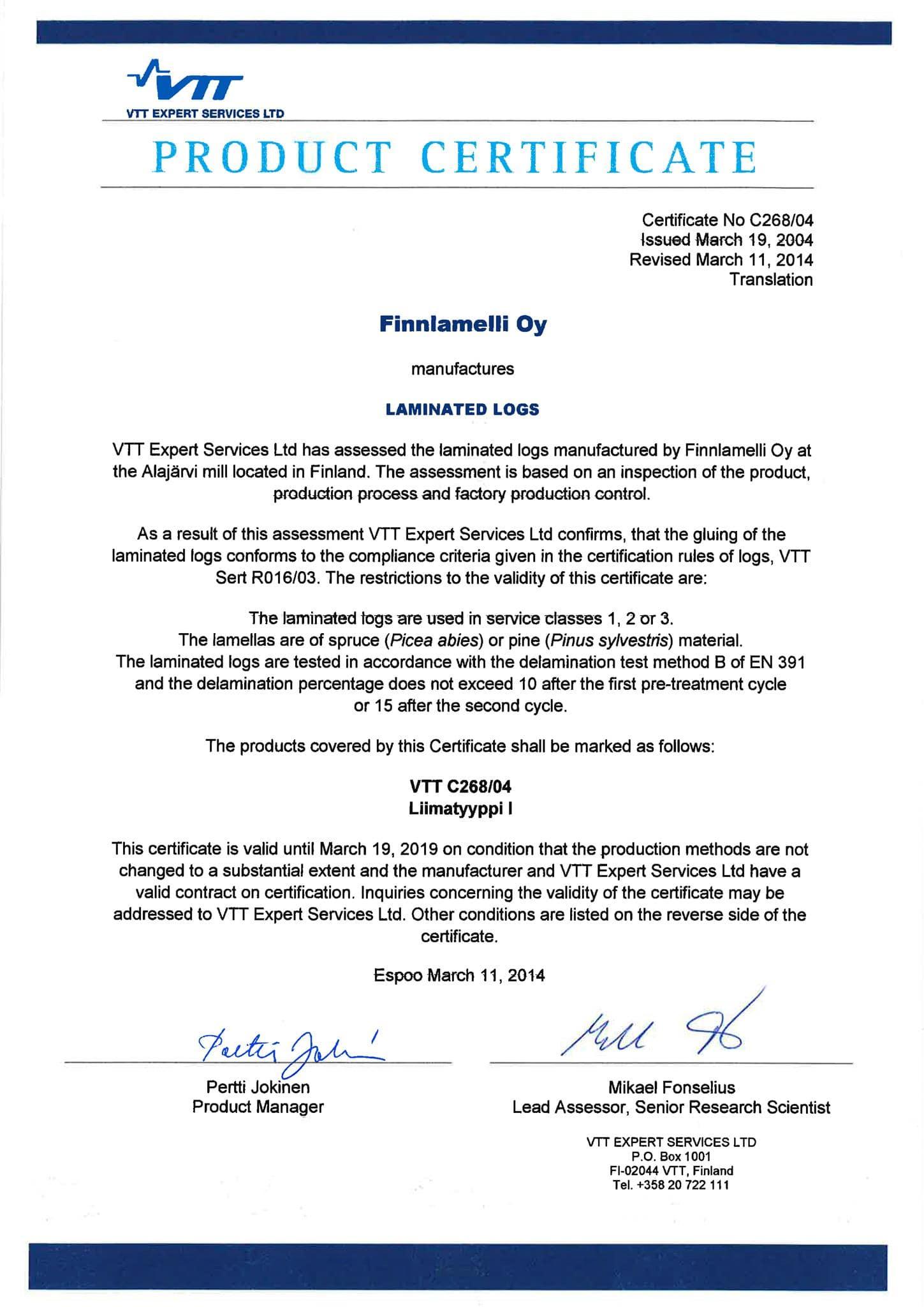 finnlamelli-oy-certificate-laminated-logs-c268-04-2014-03-11-1